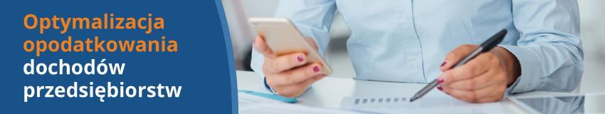 cee - Optymalizacja opodatkowania dochodów przedsiębiorstw