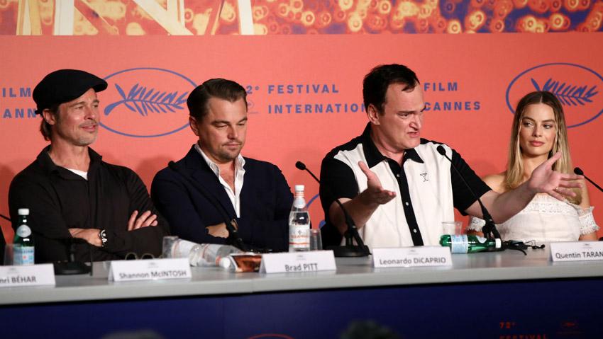 جلسه مطبوعاتی فیلم روزی روزگاری در هالیوود