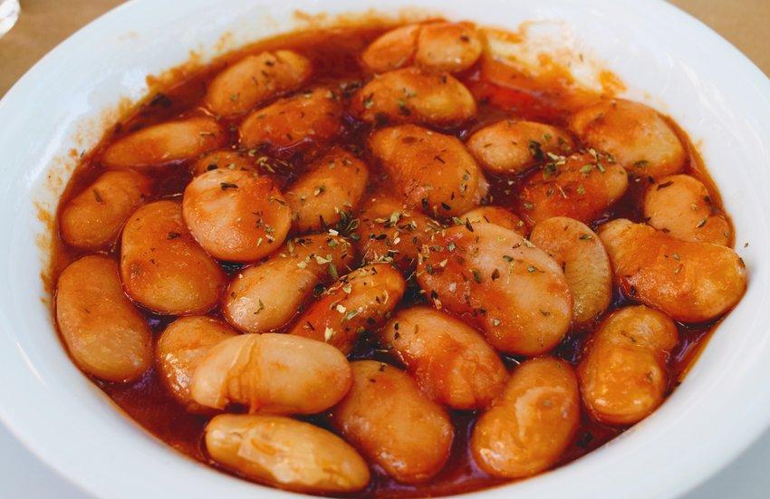 Gigantes Greek Bean Dish