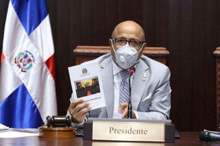 El presidente de la Cámara de Diputados, Alfredo Pacheco.