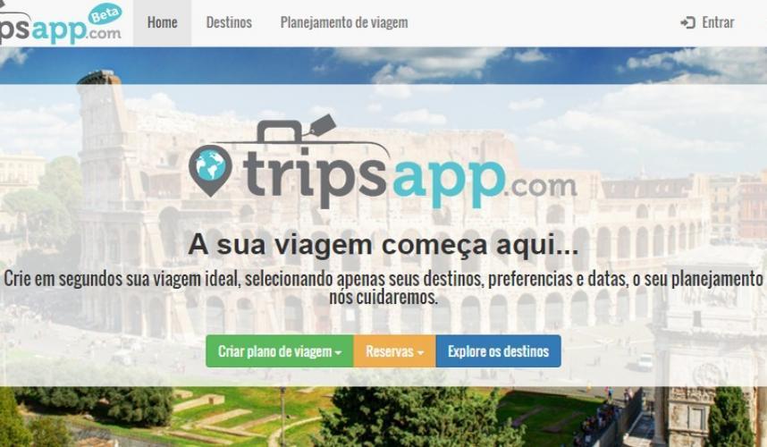 app para planejar viagem