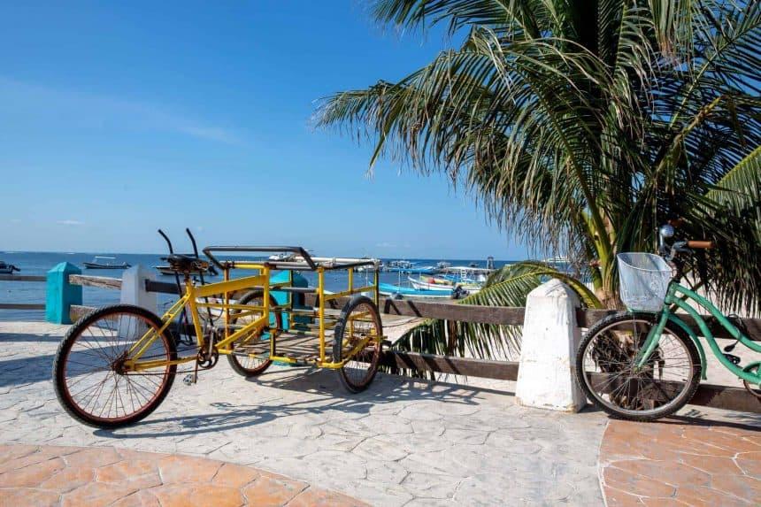 Puerto Morelos, Mexiko.Reiseführer. - Wie Du Dich im Ort bewegen kannst