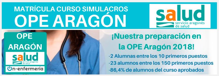 Curso OPE Enfermería Aragón