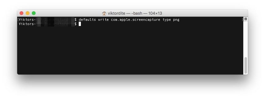 Mac Bildschirmfoto Dateiformat PNG