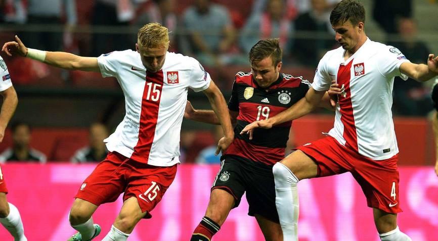 Германия - Польша футбол