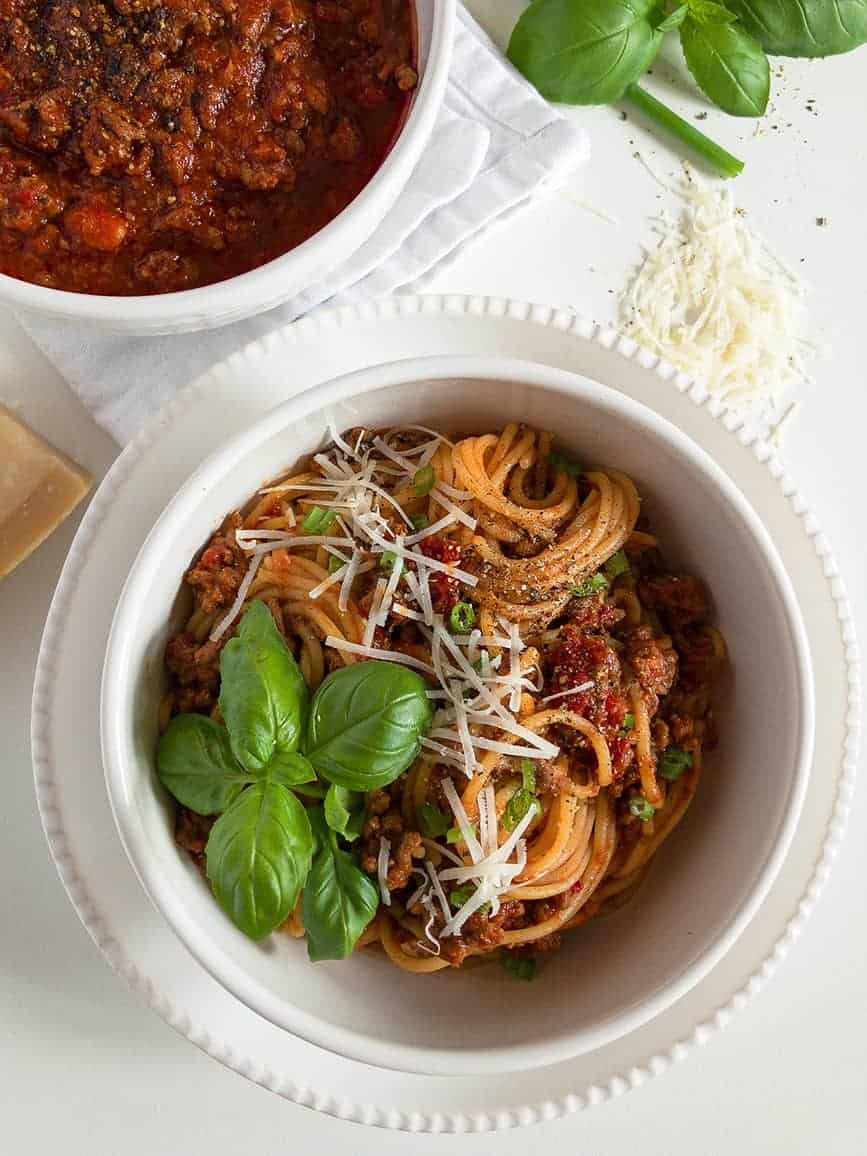 Easy Spaghetti Bolognese from Scratch