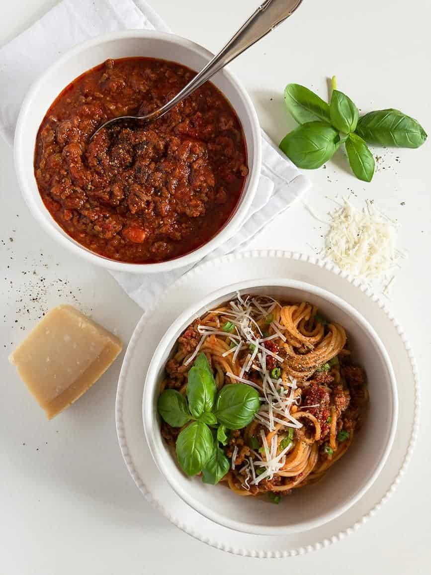 Spaghetti Bolognese Simple Recipe
