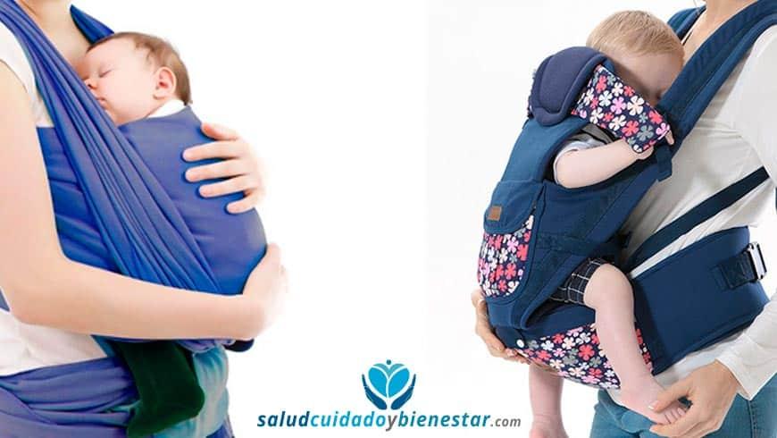 La mejor manera de portear a un bebé