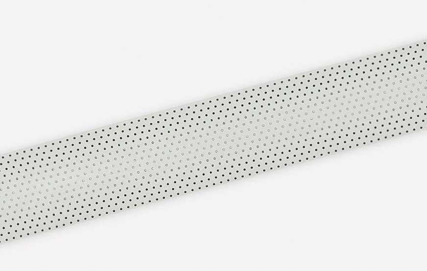 Goldstar 25 mm aluminium blinds - Bright White Perforated 8%