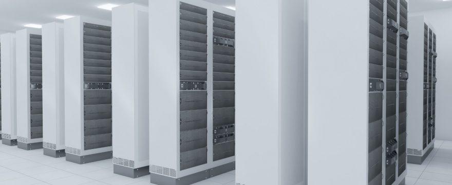 Servrar i datahall