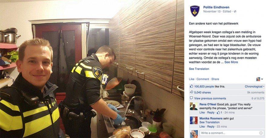 Polisler 5 Çocuğu Ortada Bırakmadı