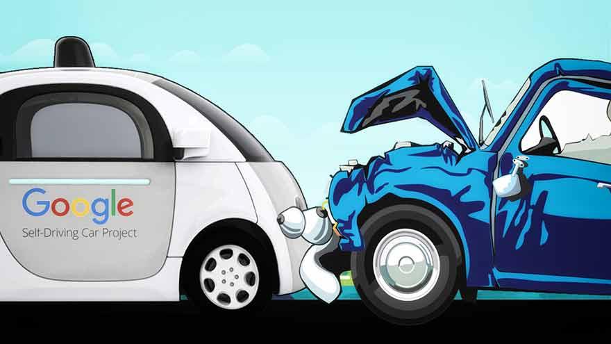 accident Google Car
