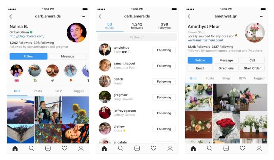 Instagram: So schauen die neuen Profile aus 1