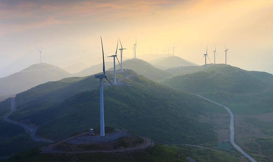 éoliennes en Chine