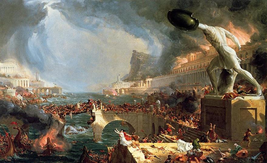 chute de Rome