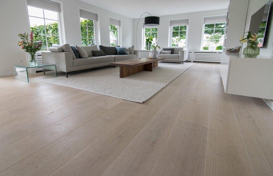 Lichte houten vloeren