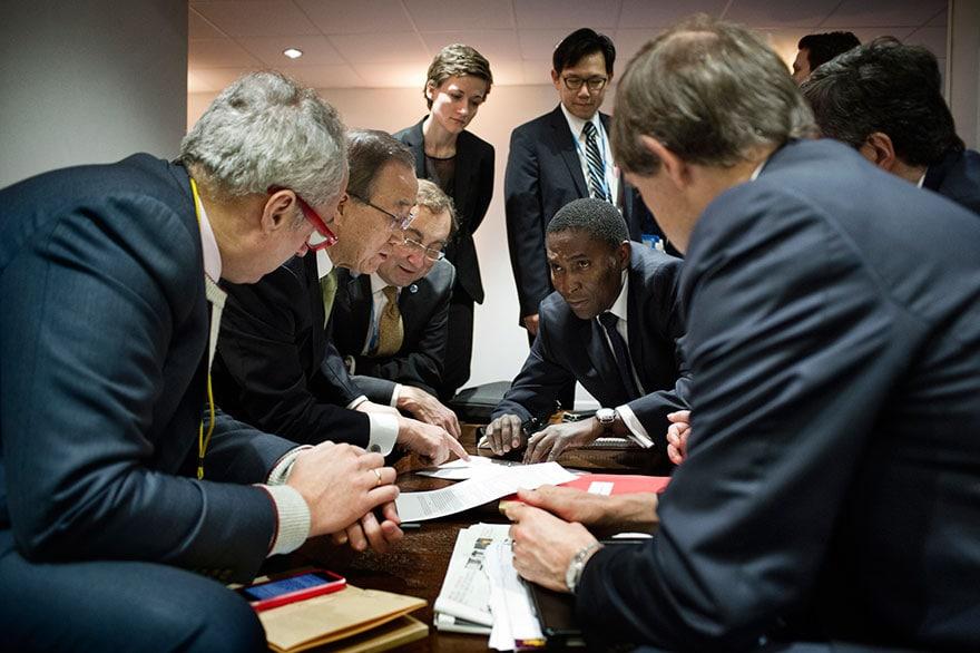 Négociations à la COP21