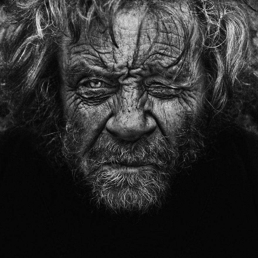 Ritratto tratto dalla raccolta Homeless-Lee Jeffries