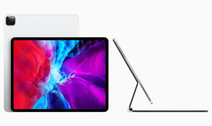 Apple stellt neues iPad Pro mit LiDAR Scanner vor.