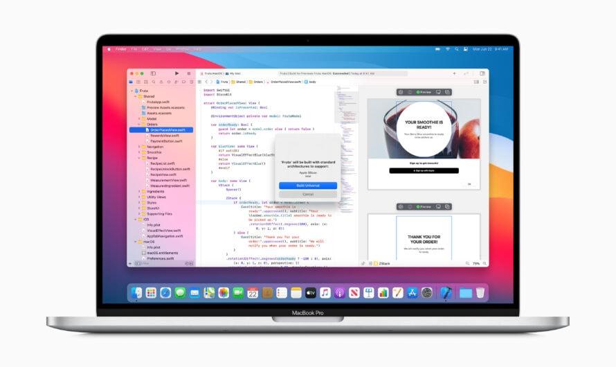 Die ARM-Macs kommen