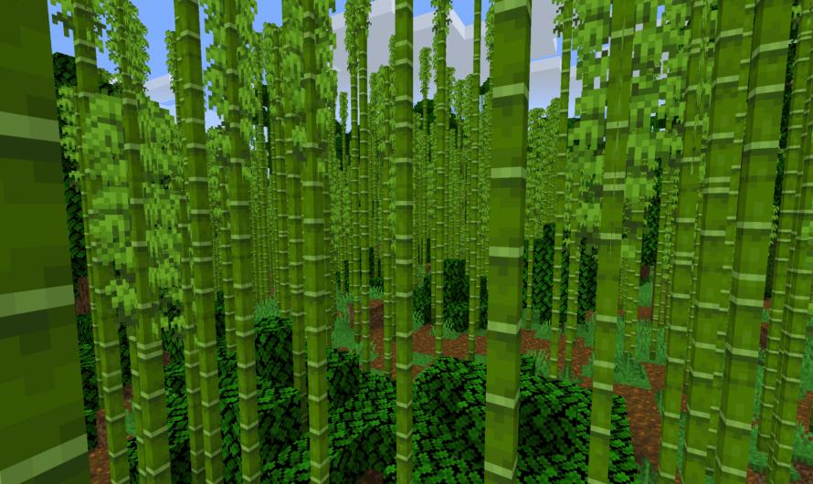 Minecraft Bambus