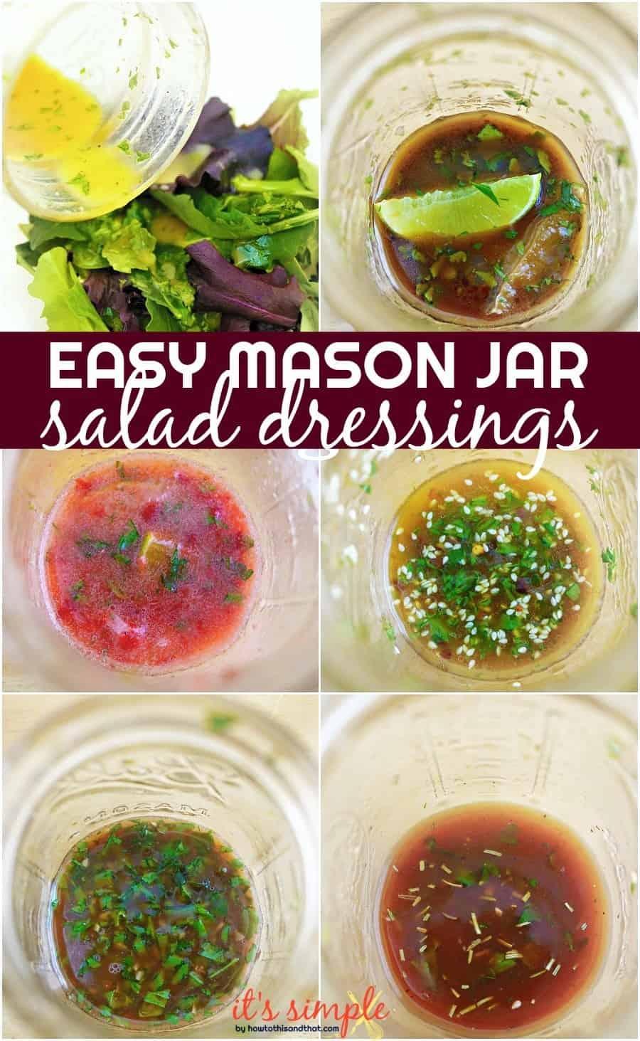 easy vinaigrette recipes