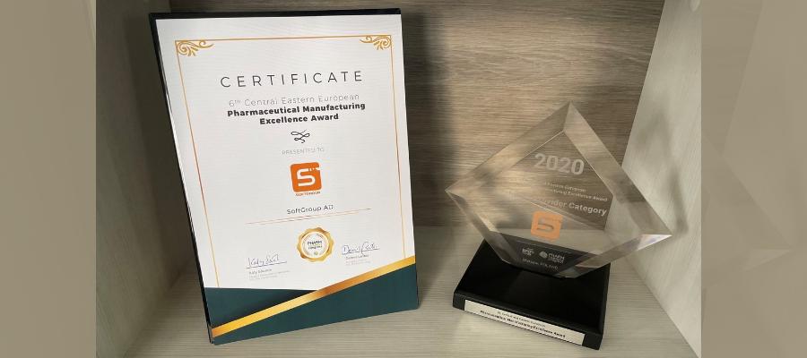 award certificate 6th CEE 2