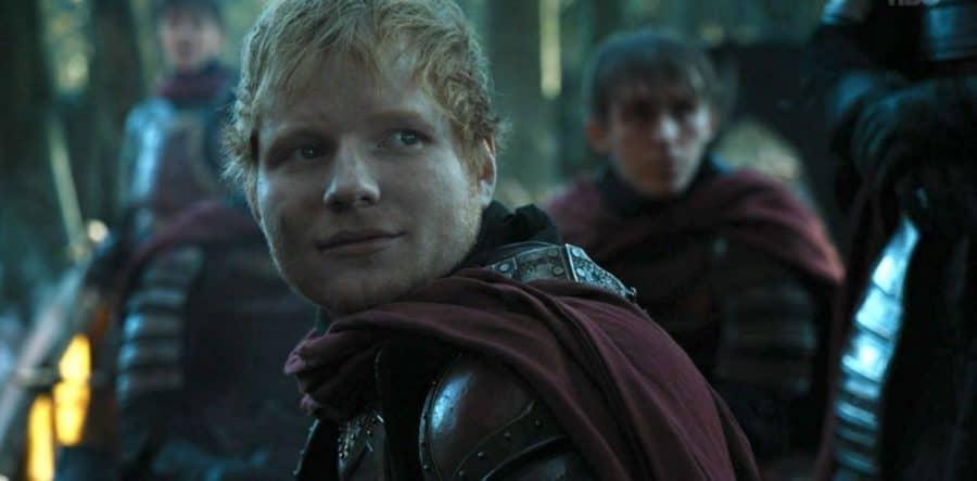 ed sheeran w grze o tron