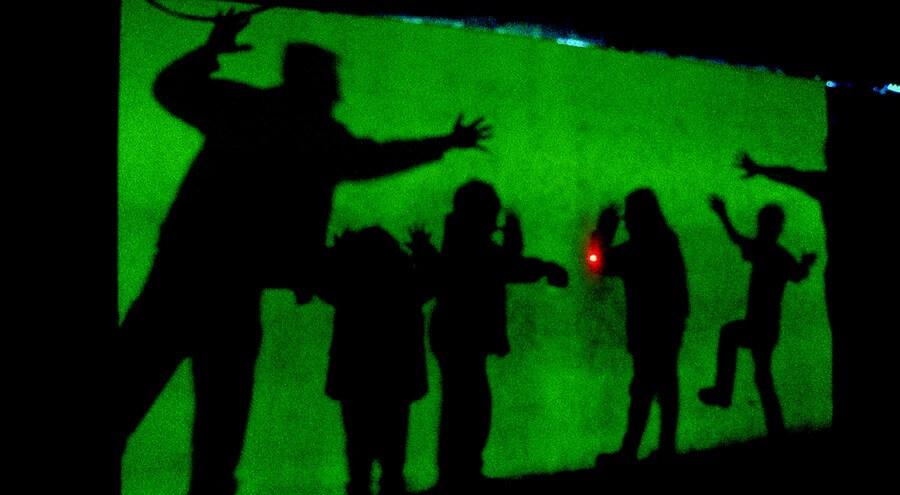 Schattenriss Galileo