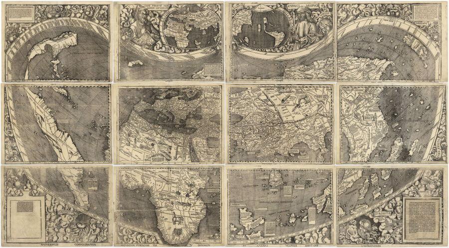 El mapa de Waldseemüller y Ringmann fue el primero en etiquetar al nuevo mundo como «América».