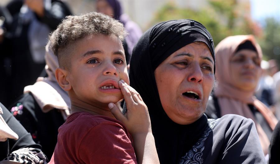 Niños de Gaza.