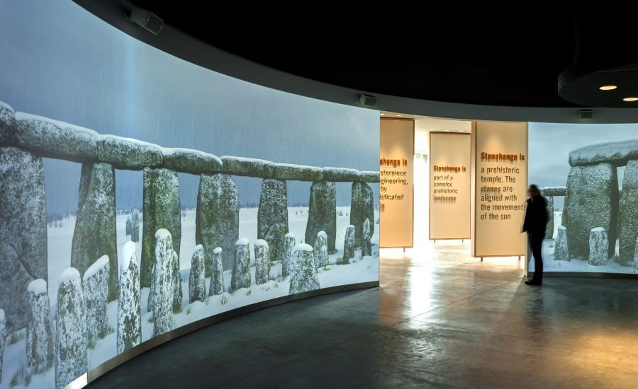 Visitar Stonehenge: Centro de Visitantes