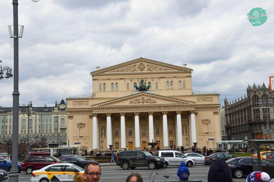 lugares que ver en moscu teatro bolshói