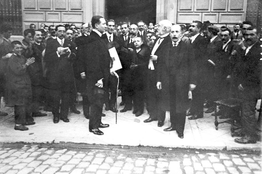 Marconi visita España