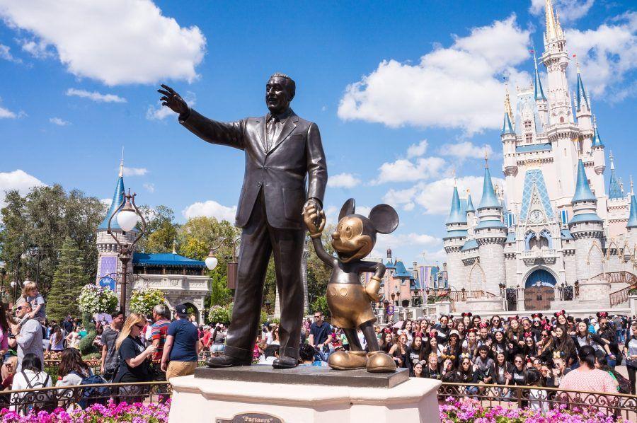 Parque de Magic Kingdom en Disney World Orlando