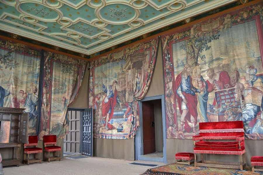Throne Room at Bolsover Castle