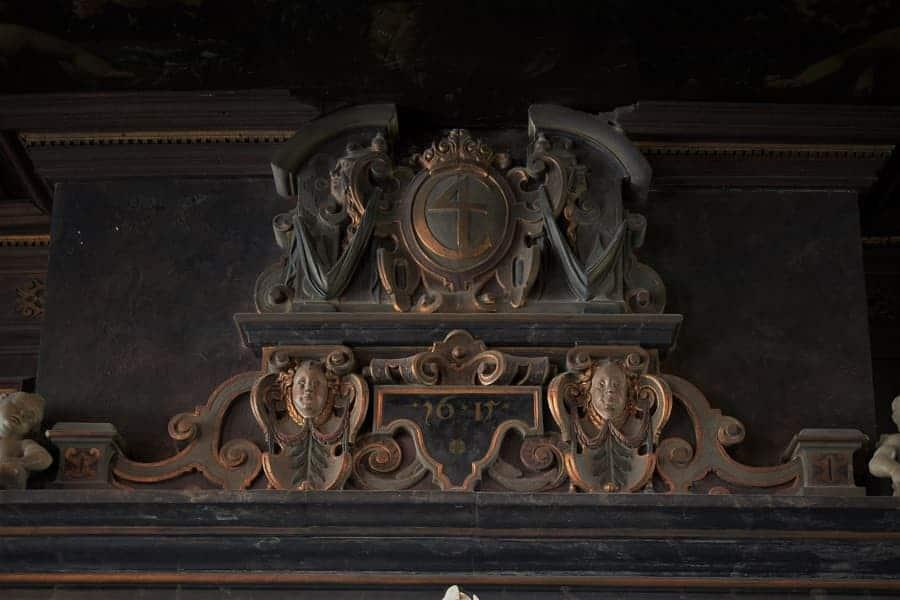 Mantle at Rosenborg Castle