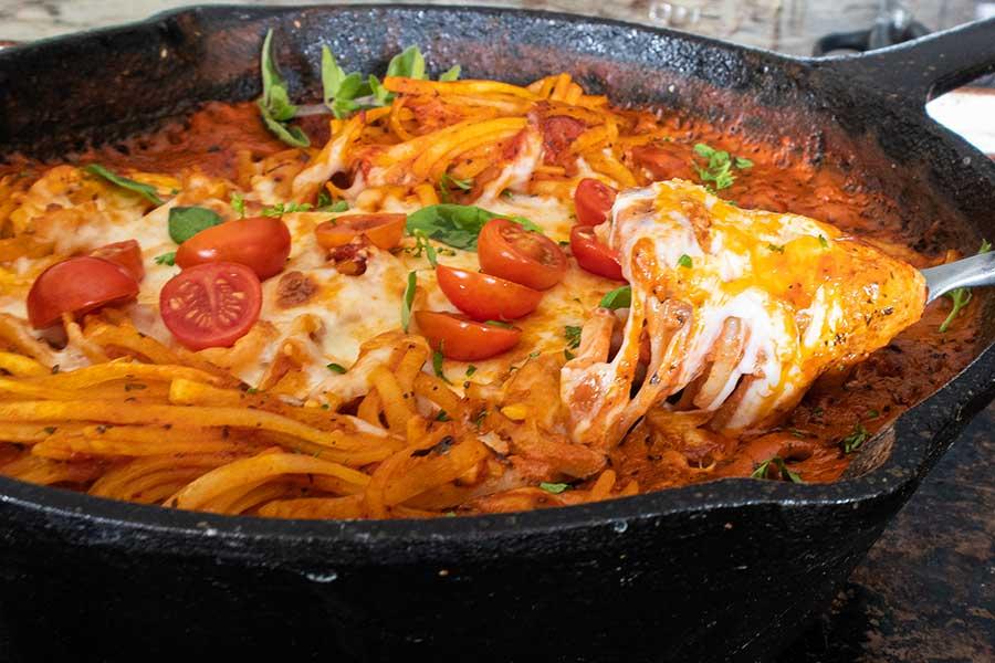 gluten-free pasta bake