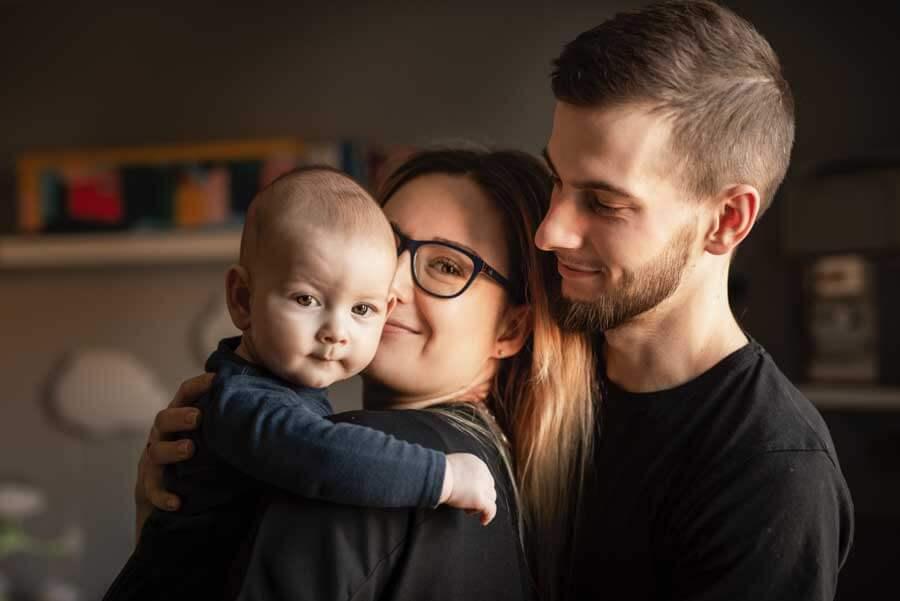 Zdjęcia dziecięce i noworodkowe w domu