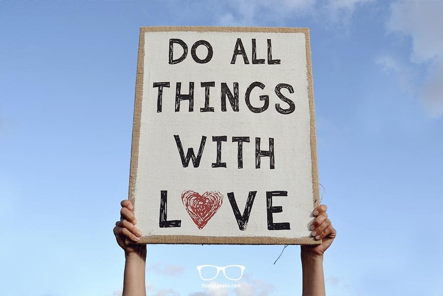 Do All Things With Love!