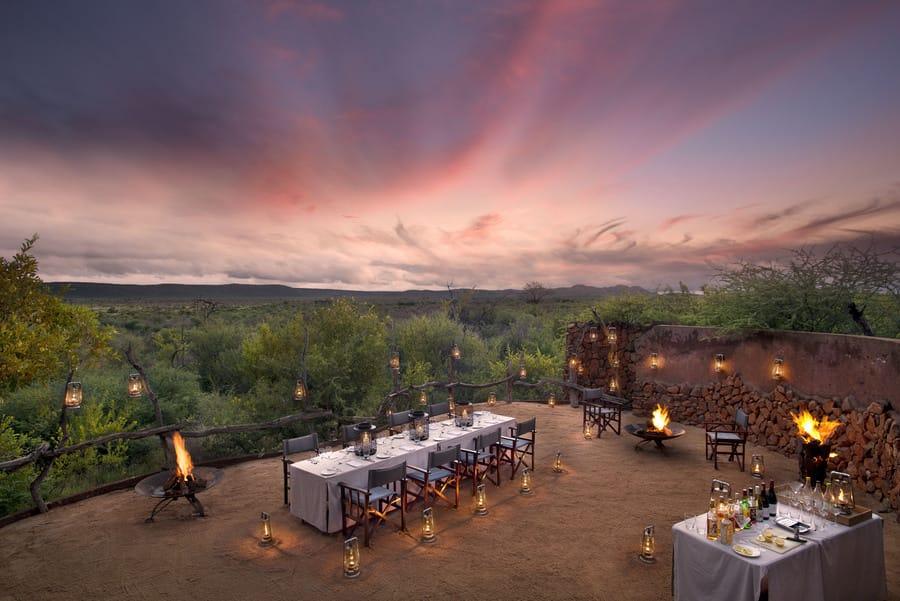 Madikwe Safari Lodge Dining