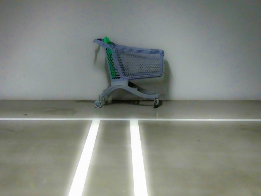 La soledad del carro abandonado