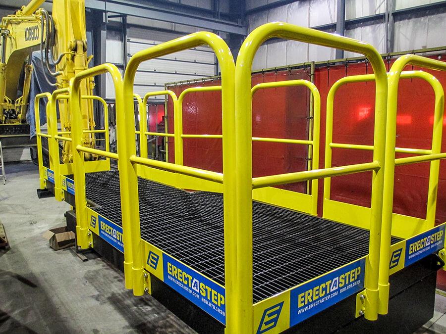 Industrial Metal Work Platform