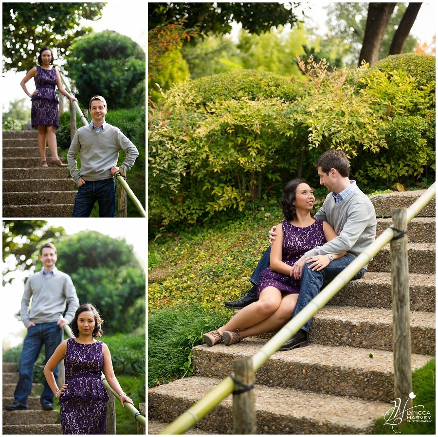 Fort Worth Engagement Photographer   Japanese Gardens   Lyncca Harvey Photography