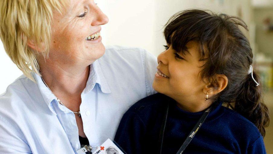Røde Kors frivillig 2406200803