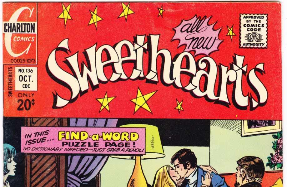 Sweethearts by Fawcett Comics and Charlton Comics