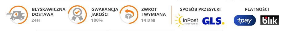 Akceptujemy płatności poprzez Przelewy24.pl