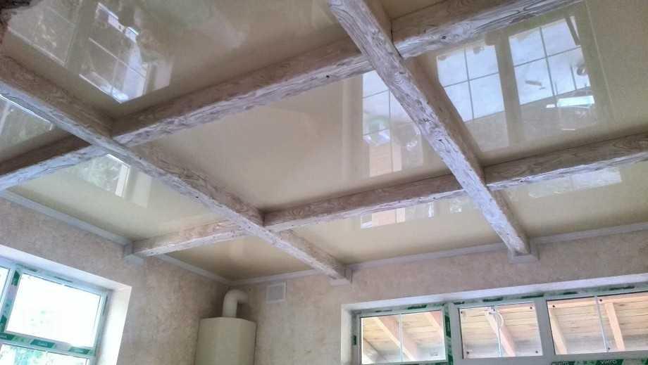 Наши работы: Натяжные потолки в Шушарах