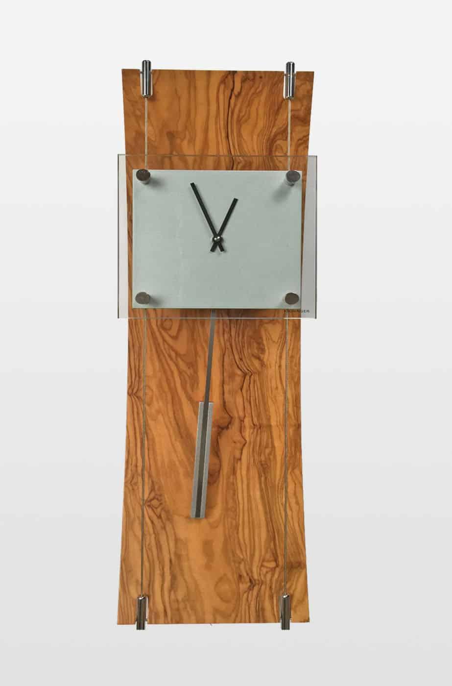 K Clock Contemporary Wall Clock