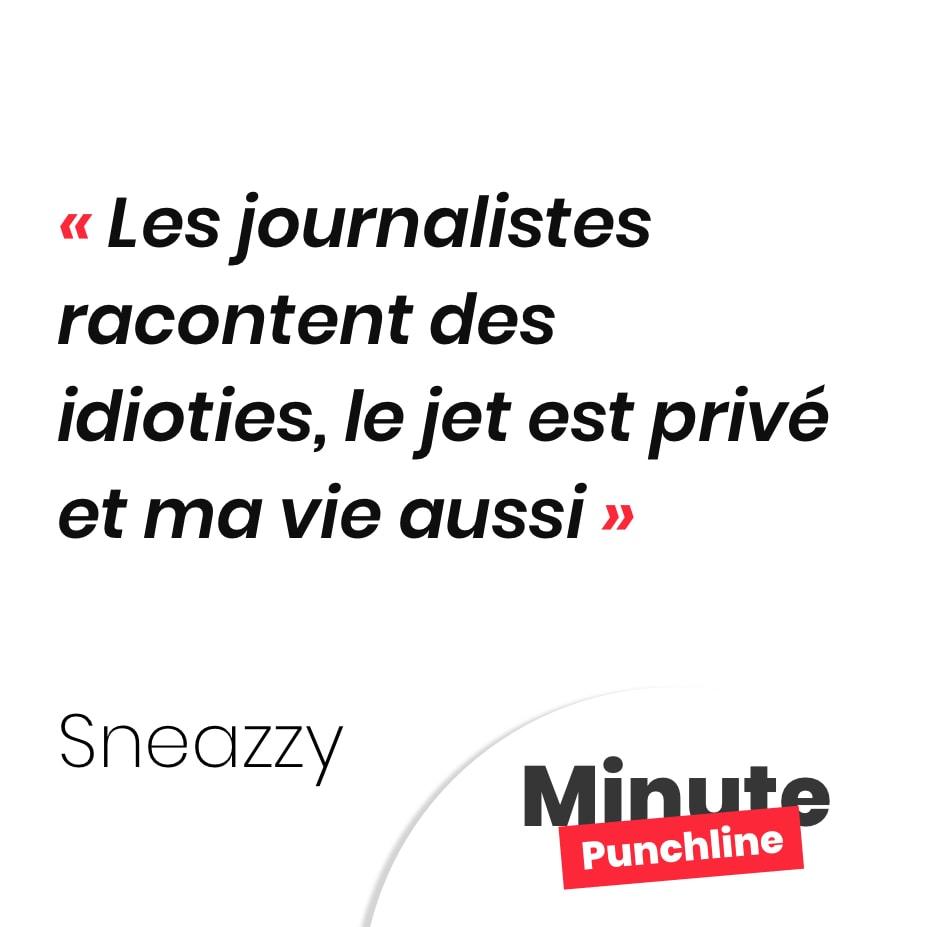 Les journalistes racontent des idioties, le jet est privé et ma vie aussi